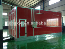 High quality infrared car spray booth/auto paint booth air filter from Guangzhou factory