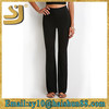 Wholesale women flared trousers, sexy leopard printed stretch skinny ladies cotton tight pants, women knitwear-casual pants