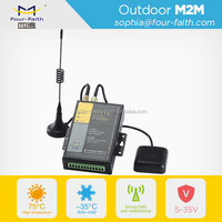 Positioning System Industrial Cellular Gprs Gps Modem with sim card slot Rs232