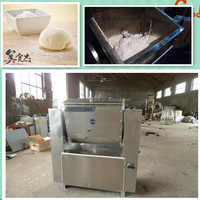 stainless steel automatic commercial dough making machine