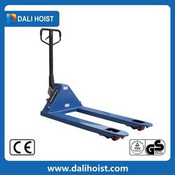Hydraulic Drive Mode Long Body Hand Pallet Truck