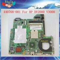 AMD Mainboard For HP V3000 Laptop Motherboard 440768-001 Work Perfect