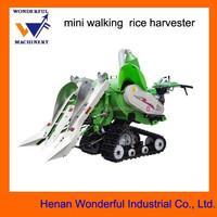 new style mini walking rice harvester