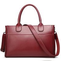 Best Selling PU Leather Bag Classic Red Fashion handbags luxury wholesale