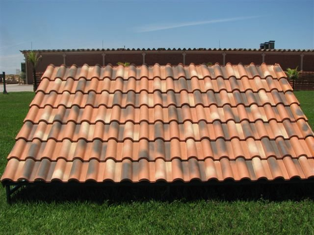 Spanish s clay tile buy roof tiles product on for Clay tile roofs