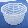 HDPE mesh surface round vegetable crates /fruits containers for sale