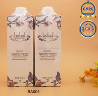 Spa perming lotion / hair straightening cream BA005 salon professional GMPC / ISO manufacture