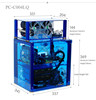 PC-C004LQ Custom Computer Case Gaming Water Cooling PC Case Computer