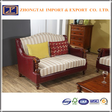 Wonderfully !!! Good Quality Two seats Genuine Leather Sofa With Cheapest Price