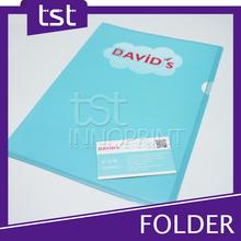 Custom Printing A4 Paper File Folder, Plastic File Folder