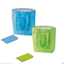 Large Folding Cool Bag Cooler Picnic Lunch Shoulder Bag Aluminium Foil Insulation Foldable Cooler Shopper Bag