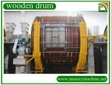 Animal leather first processing machinery tannery drum