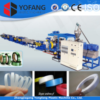 pet strapping band production line, pp plastic packing strap production line, plastic packing strap making machine