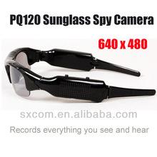 Portable DVR Sunglasses Spy Camera Sunglass CCTV Camera Hidden Camera Spy Gadgets PQ186