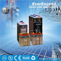 EverExceed CE passed rechargeable long service life Tubular OPzS Battery