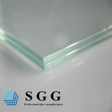 clear laminated glass door/ fence/ ceiling/ floor/ canopy/ door/ partition