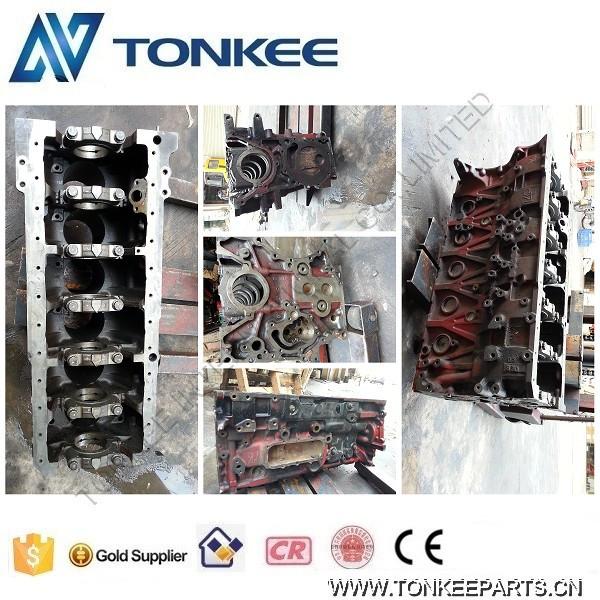 HINO J08E engine cylinder block for KOBELCO SK330-8  P03.jpg