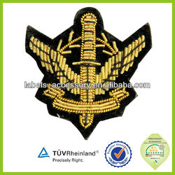 Customized design most popular 2015 Newly Military embroidery patch