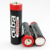 ShenZhen CEBA Battery r6 um3 1.5v dry battery Zinc Carbon Battery