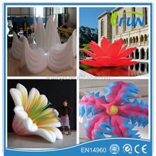 wonderful decoration inflatable flower/inflatable led flower decoration