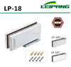 NEW DESIGN NO DRILLING FLOOR SPRING DOOR CLOSER FLOOR HINGE