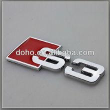 Custom ABS car badges emblems and Chrome auto emblems, car badge logo plastic emblem (ss-3686)