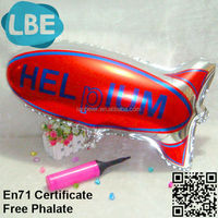 custom print foil ballons blimp for sale