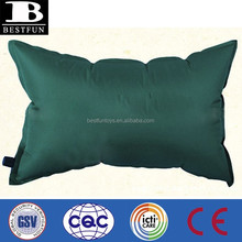promotional customized automatic inflatable pillow air filled travel neck pillow