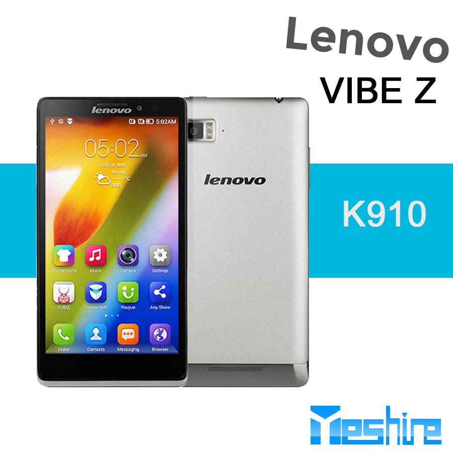 الهاتف الذكي الجديد وصول 2014 لينوفو k910( فيبي z) كوالكوم أنف العجل 800 2.2 غيغاهرتز رباعية النواة وحدة المعالجة المركزية