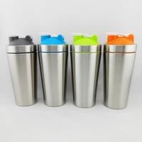 Custom logo shaker bottle for protein blender