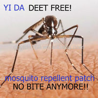 DEET FREE 100% natural citronella mosquito repellent band for kids/adults