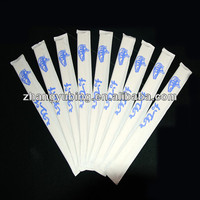 21cm disposable bamboo chopsticks with paper cover