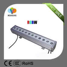 IP65 outdoor RF IR DMX rgb floor light led wall washer light 12W high quality with Meanwell Driver