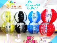 Crazy!! inflatable bubble footballs/human bubble ball/inflatable bumper ball