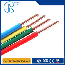 single core BV house wiring electrical cable 6mm