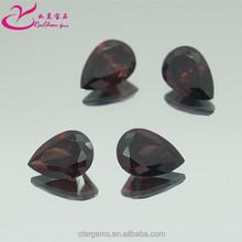 Best selling brown round cut 6*6mm cubic zirconia gemstone in factory price