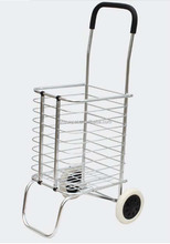 2015 Aluminum foldable shopping bag market trolley