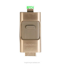 USB 2.0 Interface Type and Metal Material 16 gb i- flash drive OTG for iphone 6