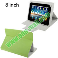 Newest Stand Leather Case for 8 inch Tablet PC with Buckle