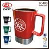 Wholesale popular 16oz high quality white bulk coffee mugs with printing logo