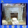 Cheap flower carved fireplace mantels buyer price