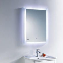 Economical updated illuminated lighted mirror