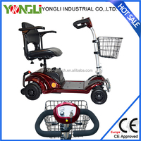 Shopping walking companion 4 wheel electric scooter