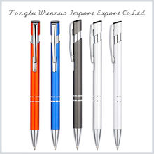 Attractive price new type white metal pen