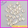 Flat Back Sew on Rhinestones Crystal Glass Stone Beads for Clothing Decoration