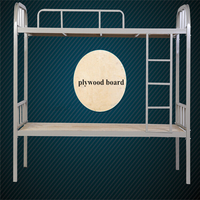 Home Bed Specific Use and Metal Material bunk bed for adult