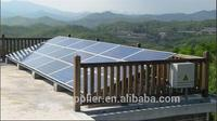 Chinese low cost 5kw/grid tie solar panel system 5000w solar generatorCE approved