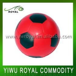 Promotional Red Mini Anti Stress PU Foam Soccer Ball
