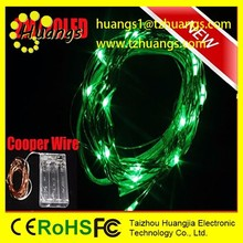 huangjia Battery Operated Colorful LED Seed Light/ Cooper wire LED micro fairy light for flower decoration
