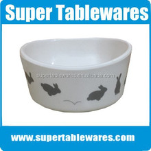 Melamine Rabbit Bowl Feeder and Waterers